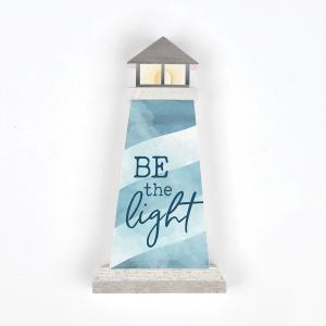 Sign - SHP0043 - Lighthouse - Be the Light