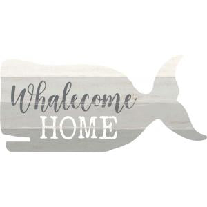 Sign - SHP0048 - Whale - Whalecome Home