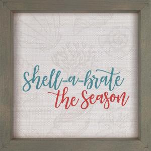 Sign - WPM0020 - Shell-a-Brate the Season