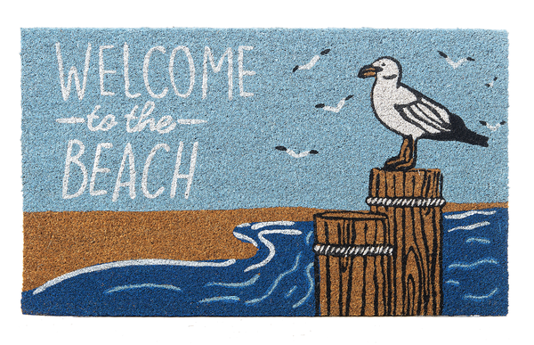 Door Mat - Welcome to the Beach - CB175180