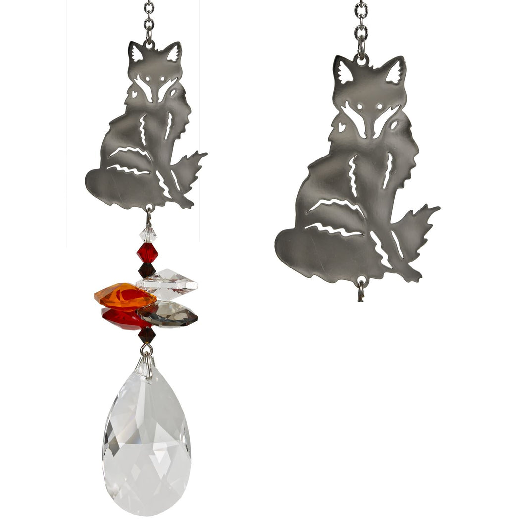 Crystal Fantasy Suncatcher - Fox