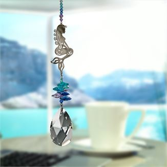 Crystal Fantasy Suncatcher - Xlarge - Mermaid - CFZMM