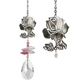 Crystal Fantasy Suncatcher - Rose - CFRO