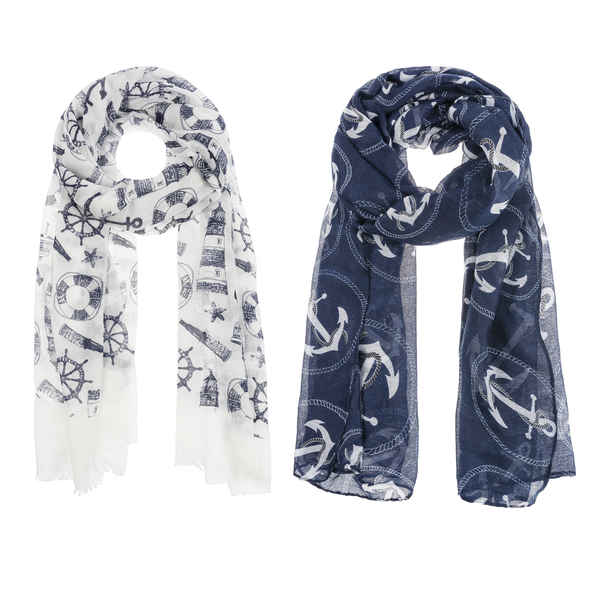 Scarf - Nautical