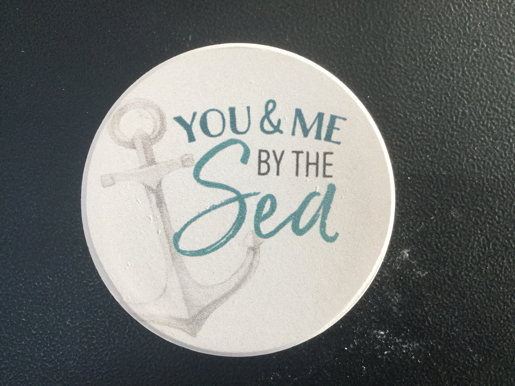 Car Coaster CST0182 - You & Me by the Sea