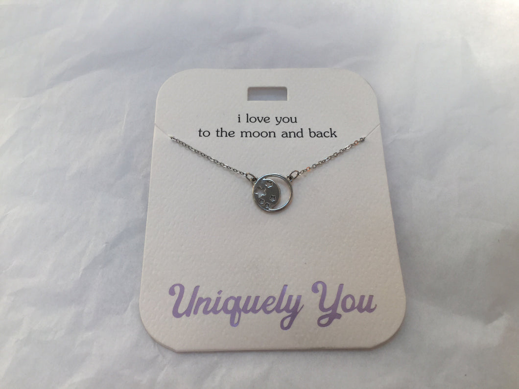 Necklace - YOU 4004 - I love you to the moon and back
