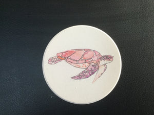 Car Coaster CST0180 - Turtle Red