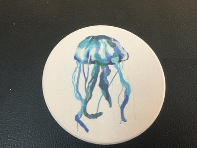 Car Coaster CST0155 - Jellyfish