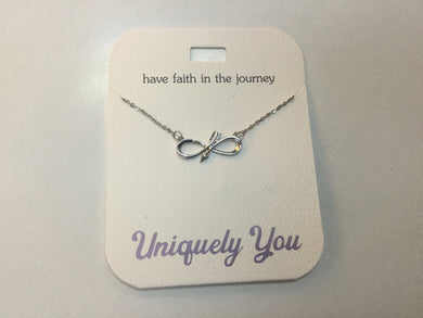 Necklace - YOU 4019 - Have Faith in the journey