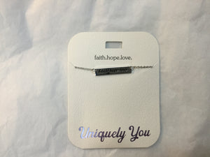 Necklace - YOU 1313 - Faith.Hope.Love.