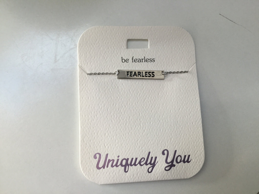 Necklace - YOU 1309 - Be fearless