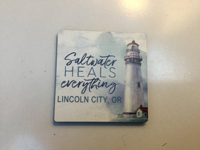 Magnet - MGT0333 - Lighthouse - Lincoln City, Or