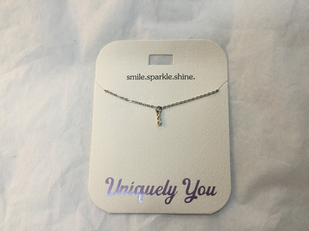 Necklace - YOU 4033 - Smile.Sparkle.Shine.