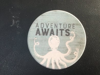 Car Coaster CST0168 - Adventure Awaits Octopus
