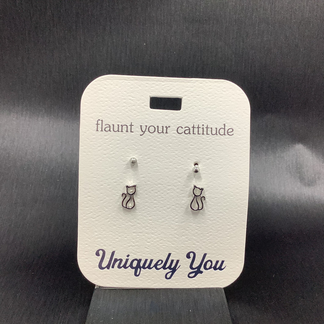 Earrings - YOU 4555 - Cat