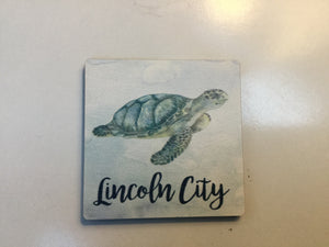Magnet - C2MGT0328 - Turtle - Lincoln City