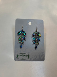 Earrings - WME 116 - Hanging Leaves