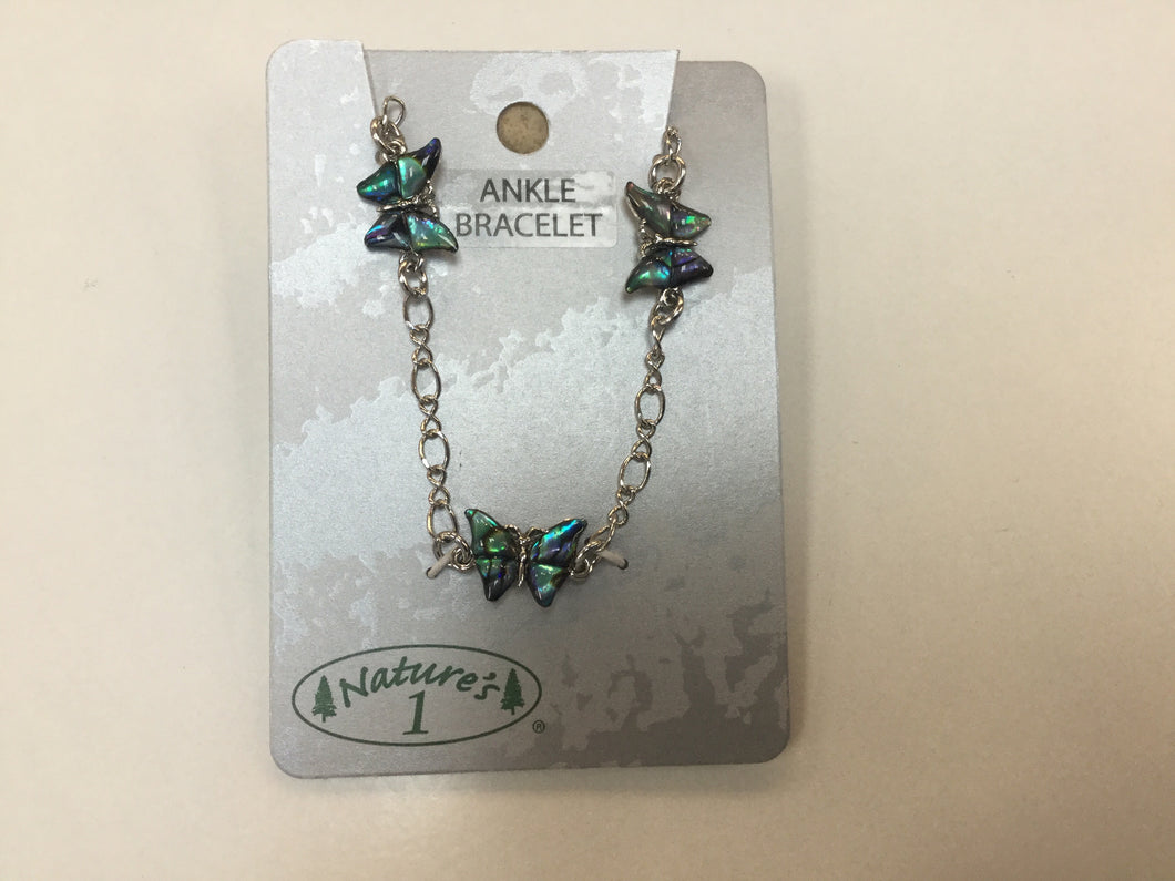 Anklet -  WMK 007 - Butterfly