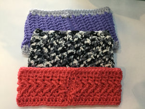 Ear Warmers - Headband - Crochet