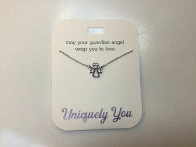 Necklace - YOU 4028 - May your guardian angel wrap you in love