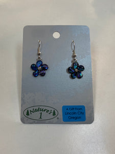 Earrings - WME 032 - Forget Me Not
