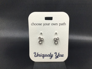 Earrings - YOU 4536 - Triple Circle