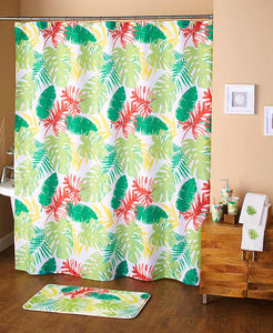 Shower Curtain - Palm Leaves