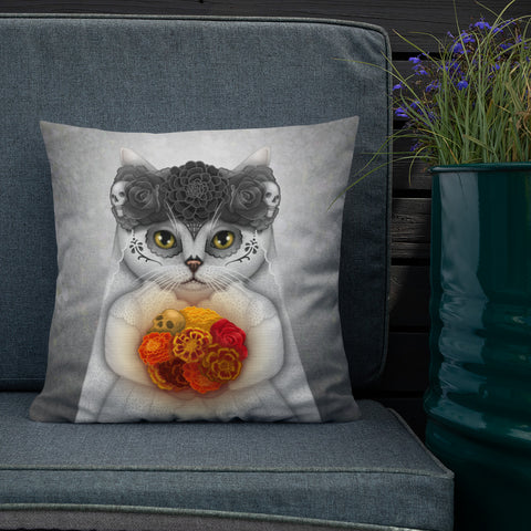 "Premium pillow ""British Shorthair"""
