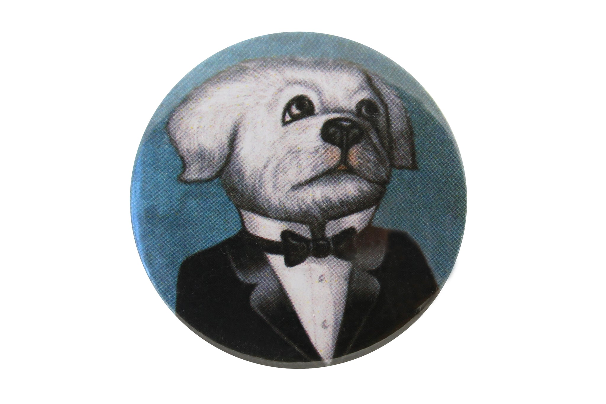 "Badge ""The apple never falls far from the tree"" (Dog)"
