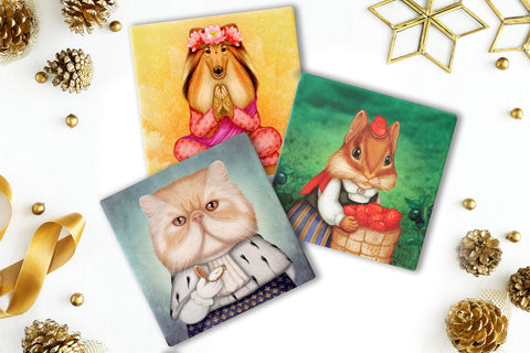 Set of 3 trivets for just €19