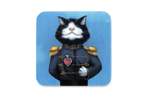 "Coaster ""All's fair in love and war"" (Cat)"