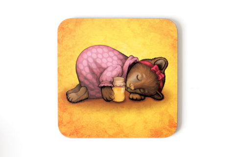 "Coaster ""Sleeping is sweeter than honey"" (Bear)"
