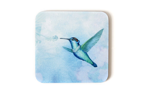 "Coaster ""Small is beautiful"" (Hummingbird)"