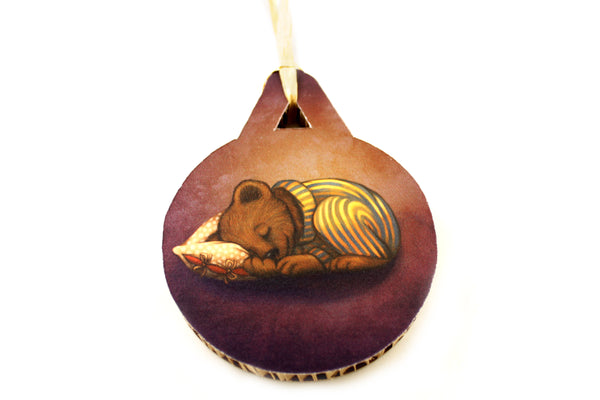 "Christmas tree decoration ""Morning is wiser than evening"""