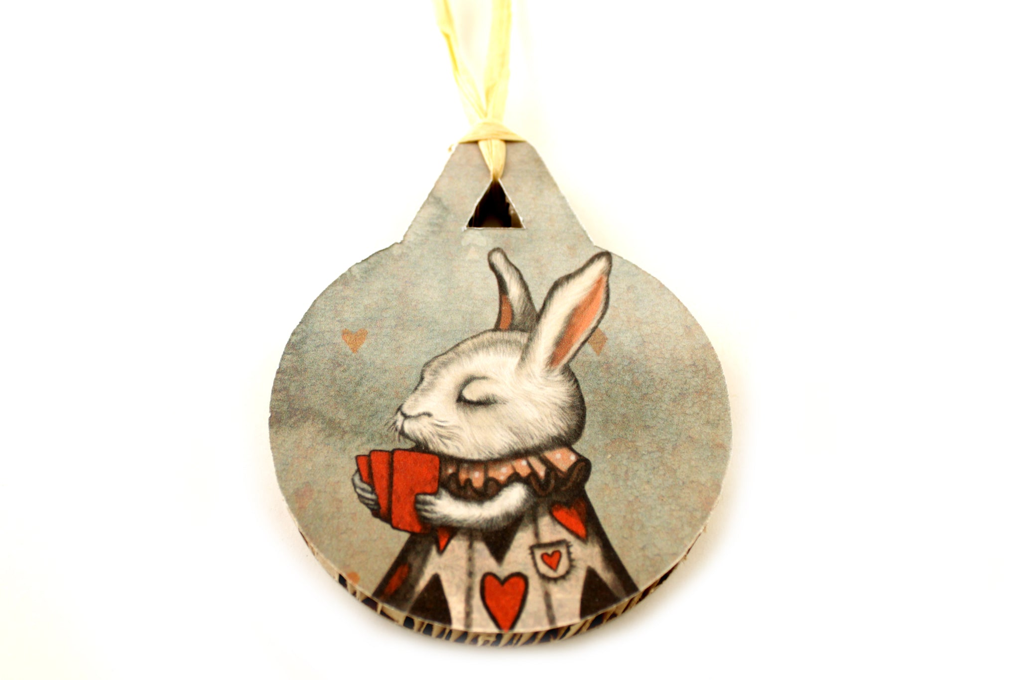 "Christmas tree decoration ""Unlucky at cards, lucky in love"" (Hare)"