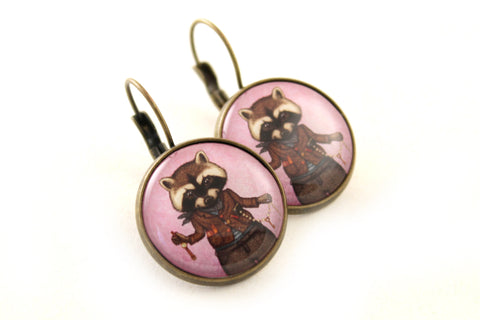 "Earrings ""Finders keepers"""