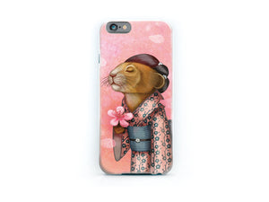 "iPhone cover ""A fallen blossom never returns to the branch"""
