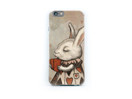 "iPhone cover ""Unlucky at cards, lucky in love"""