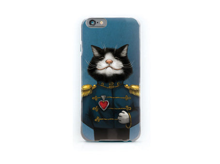 "iPhone cover ""All's fair in love and war"" (Cat)"
