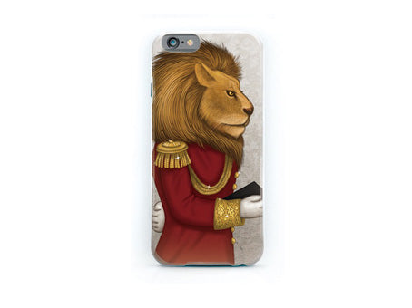 "iPhone cover ""The word is stronger than the army"" (Lion)"