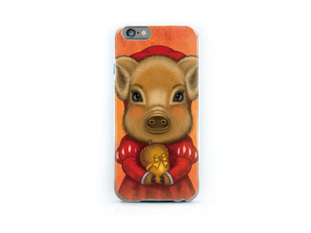 "iPhone cover ""A small gift is better than a great promise"""