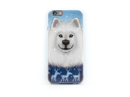 "iPhone cover ""No snowflake ever falls in the wrong place"" (Samoyed)"