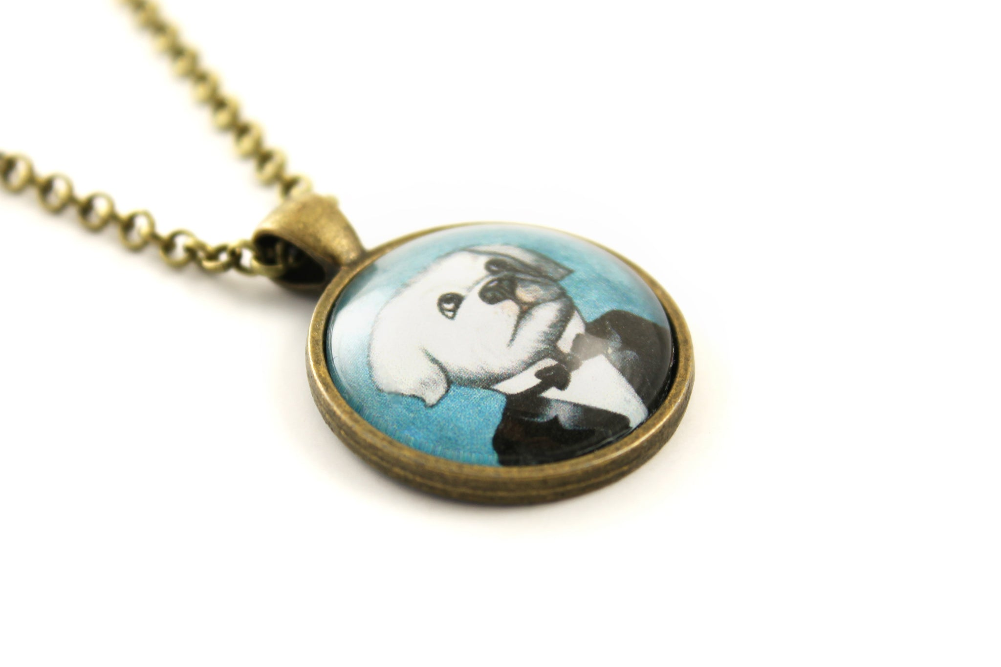"Pendant ""The apple never falls far from the tree"" (Dog)"