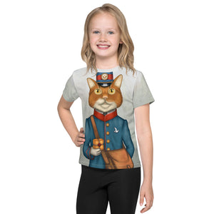 "Unisex kids T-shirt ""The best things come in small packages"" (Cat)"