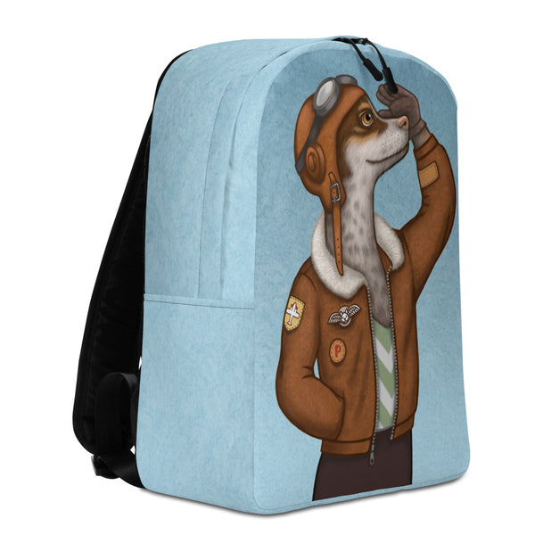 "Backpack ""Have courage and the world is yours"" (Dog)"