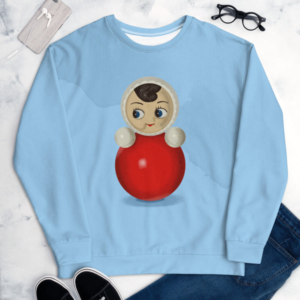 "Unisex sweatshirt ""Roly-poly toy"""