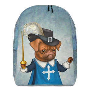 "Backpack ""He fights with spirit as well as with the sword"" (Petit brabançon)"