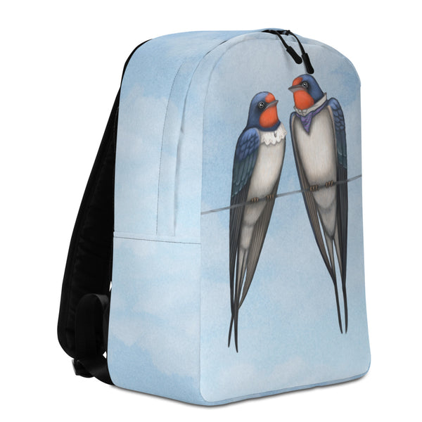 "Backpack ""Everybody loves his homeland"" (Swallows)"