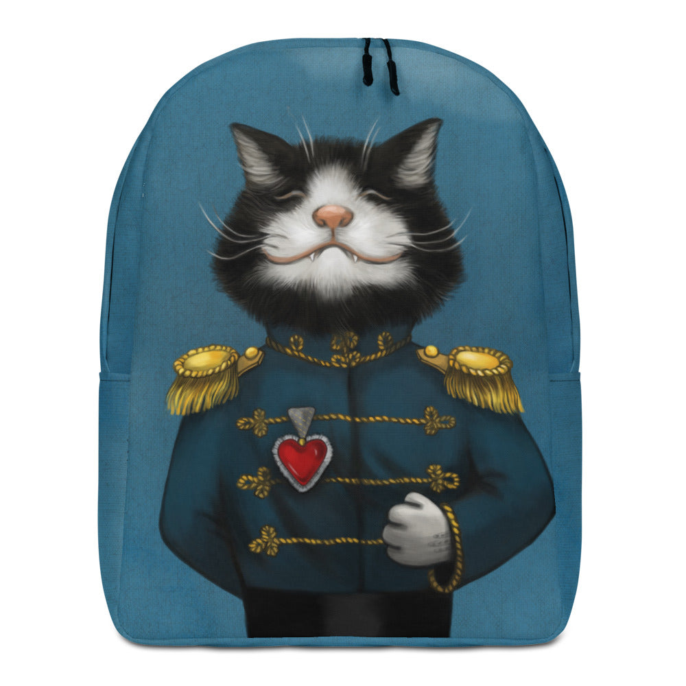 "Backpack ""All's fair in love and war"" (Cat)"