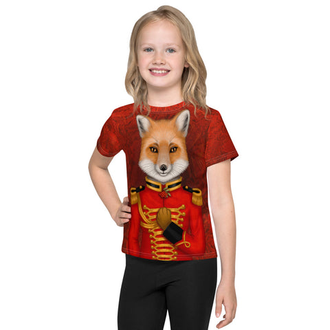 "Unisex kids T-shirt ""Today I am a warrior"" (Fox)"